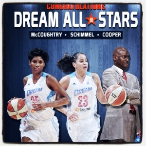 Angel and Shoni led the WNBA East Team to an All Star victory!