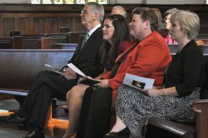 CBF mentors supporting me at my ordination